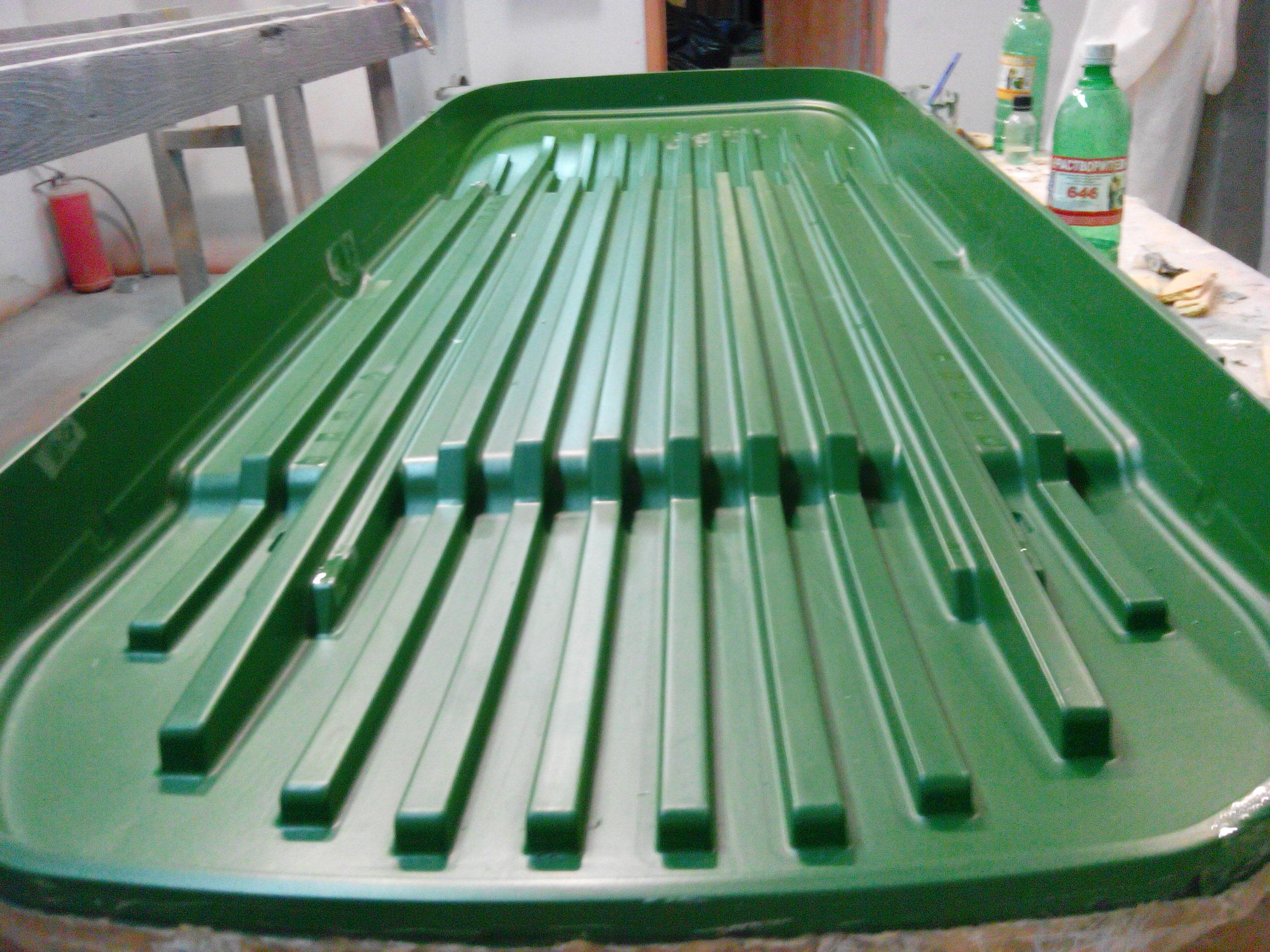 Изготовление матрицы для стеклопластика